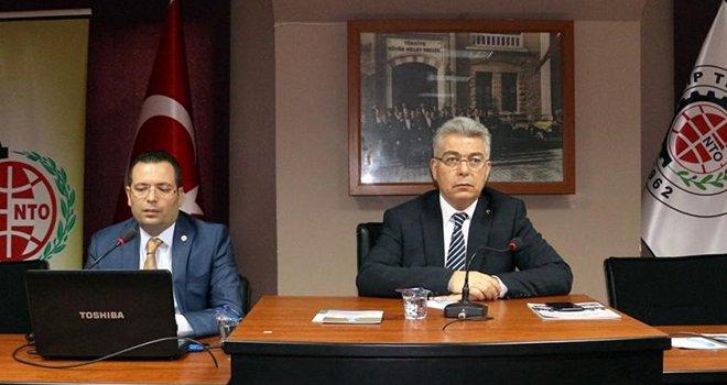NTO'da İpekyolu Kalkınma Ajansı destekleri anlatıldı