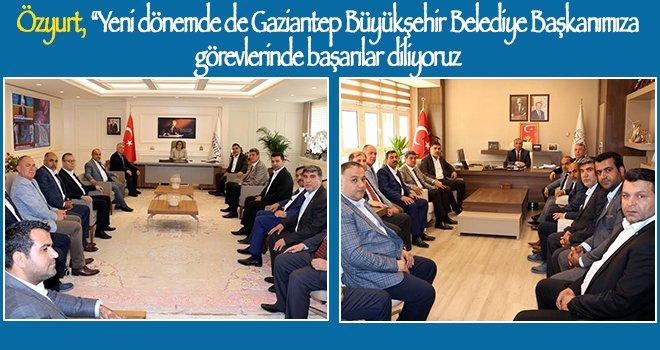 NTO'dan Gaziantep Büyükşehir Belediyesi'ne ziyaret