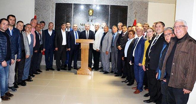 NTO'dan Menemen Kaymakamı Yiğit'e ziyaret
