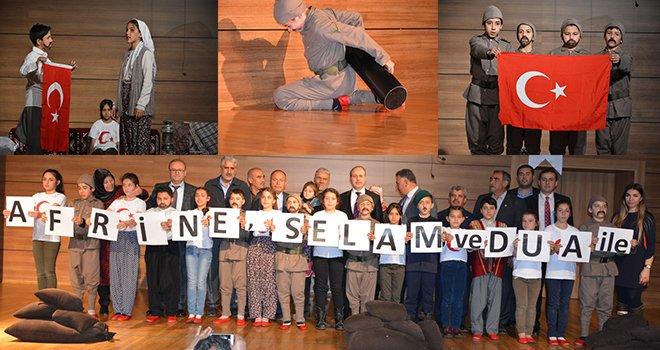 Oğuzeli Çocuk Belediyesi üyelerinin 18 Mart Çanakkale Zaferi