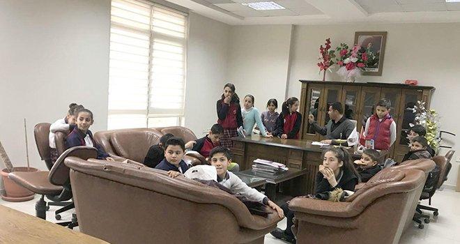 Oğuzeli Çocuk Belediyesi'nden seçim heyecanı