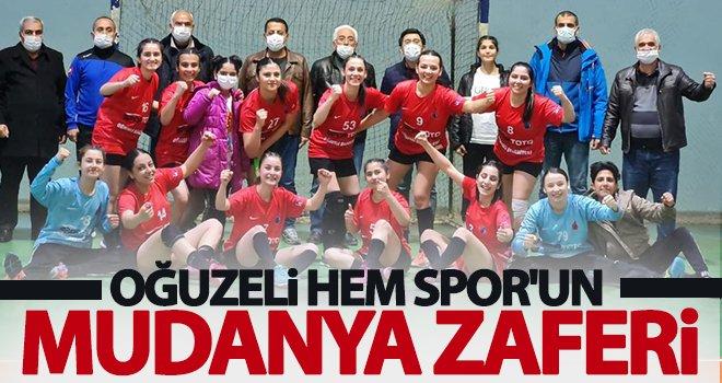 Oğuzeli HEM Spor, Bursa ekibini eli boş gönderdi