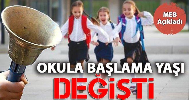 Okula başlama yaşı 69 aya çıkarıldı!..