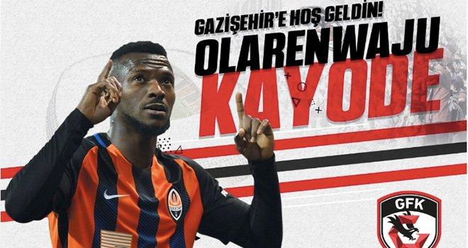 Olarenwaju Kayode Gazişehir Gaziantep'te forma giyecek