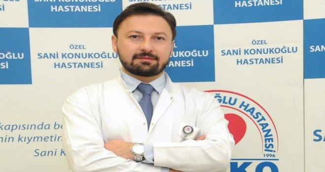 Opr. Dr. Faruk Aykanat da Konukoğlu Hastanesi'nde