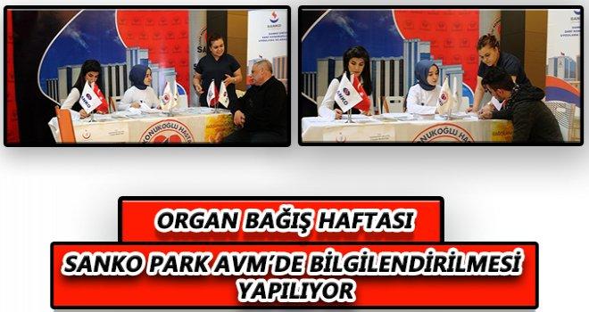 Sanko'da 'Organ Bağışı Haftası'