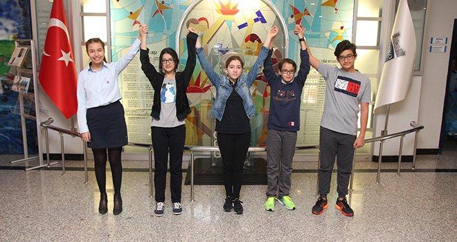 Özel Sanko Ortaokulu Türkiye birincisi