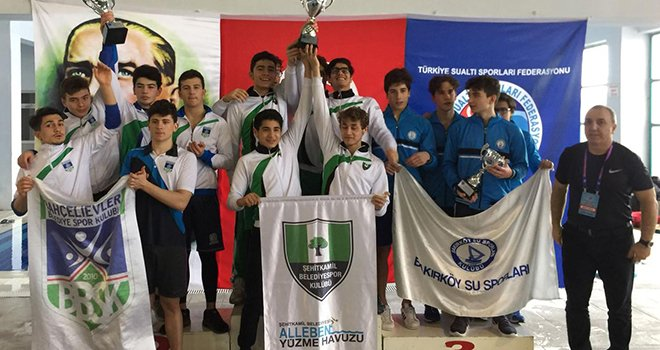 'Paletli Yüzme Branşı'nda şampiyon Şehitkamil