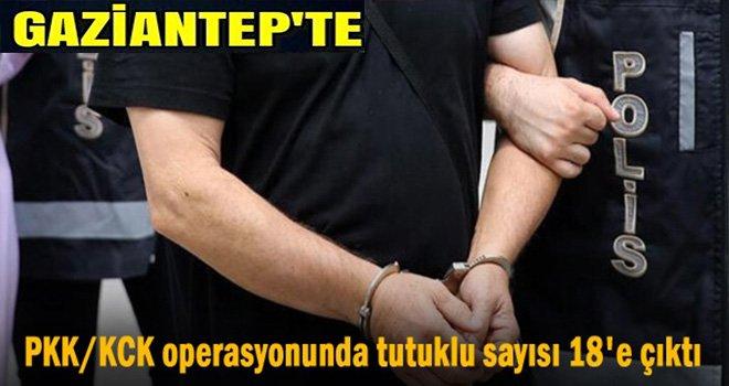 PKK/KCK operasyonunda 18 tutuklama