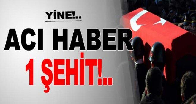 PKK'lı teröristler, havan topuyla saldırdı: 1 şehit