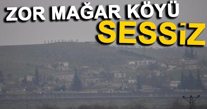 PKK'nın elindeki sınır köylerde sessizlik...