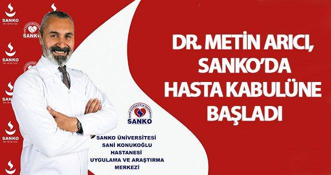 Plastik ve Rekonstrüktif Cerrahi Uzmanı Dr. Arıcı SANKO'da