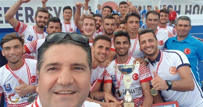 Polisgücü 8. kez Avrupa şampiyonu oldu: Gururumuz oldu