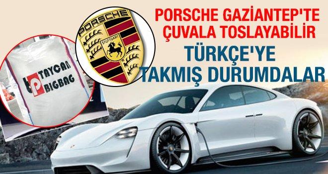 Porsche Gaziantep'te bakın neden çuvala toslayacak?