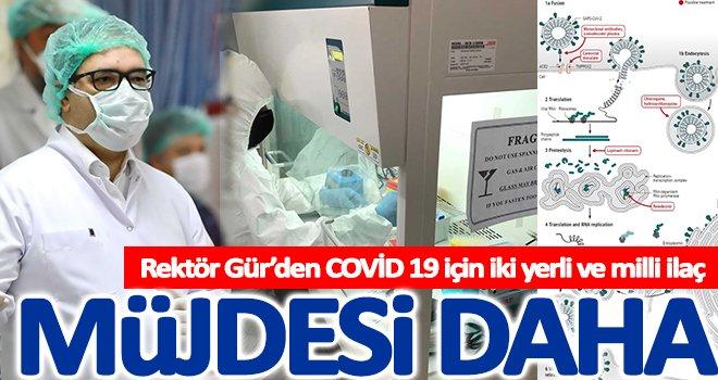Prof. Dr. Gür:  Yerli ve milli ilaç sayımız dörde yükseldi