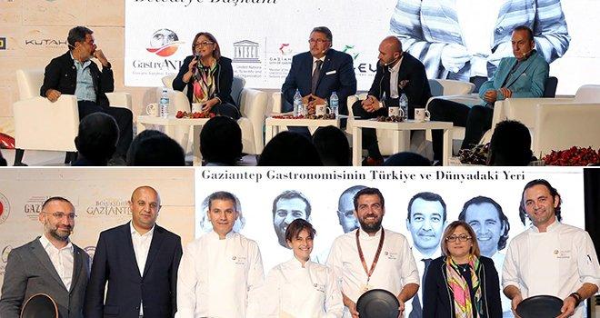 Şahin, düzenlenen panelde GastroAntep'i anlattı