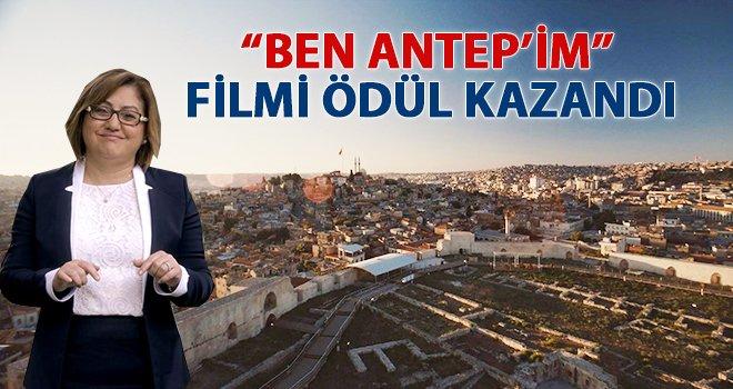 """""""Ben Antep'im"""" filmi, en iyi film ödülünü aldı"""