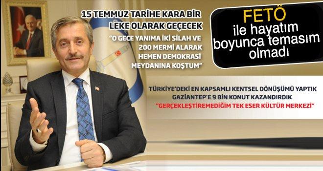 Şahinbey Belediye Başkanı Mehmet Tahmazoğlu ile dobra dobra...