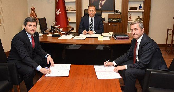 Şahinbey Belediyesi 40.000 öğrenci için protokol imzaladı