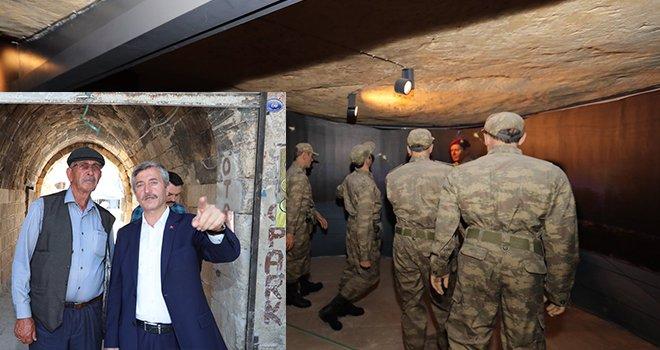 Şahinbey Milli Mücadele Müzesi Baba Halisdemir'i Duygulandırdı