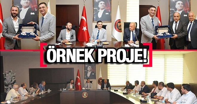 Şahinbey-Polateli OSB Türkiye'ye örnek bir proje oldu