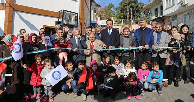 Şahinbey sosyal tesis zincirlerine bir halka daha