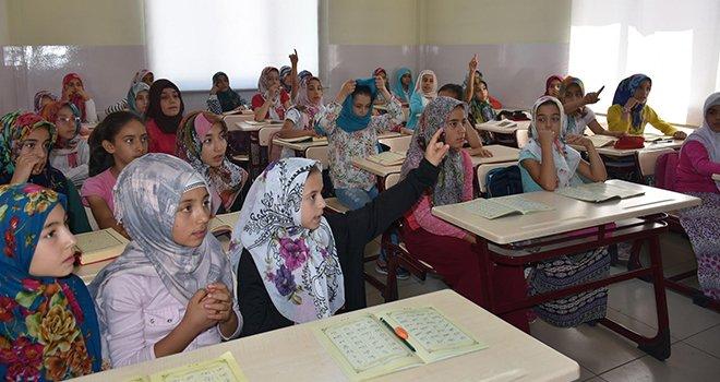 Şahinbey'de Kur'an-ı Kerim öğreniyorlar