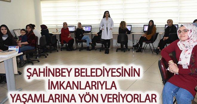 Şahinbey'de 7'den 70 herkes bilgisayar kursuna gidiyor