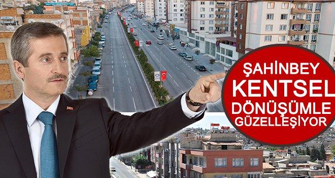 Şahinbey'de 9 bölgede kentsel dönüşüm çalışmaları...