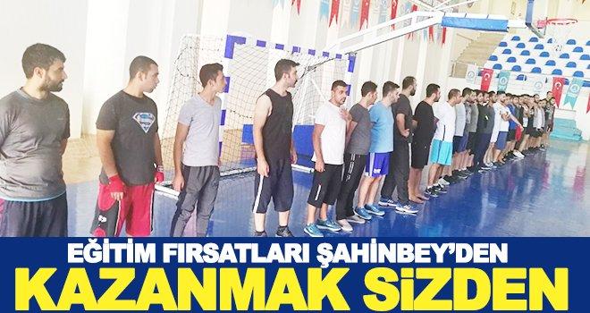 Şahinbey'de Fiziki Yeterlilik Kursları
