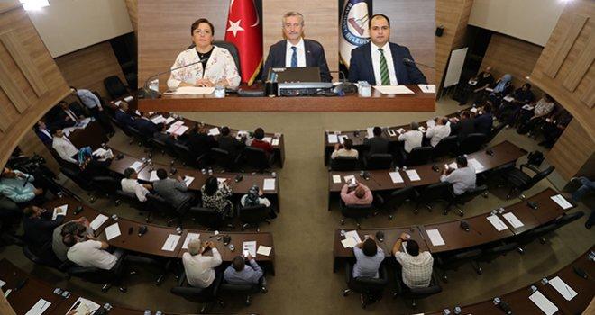 Şahinbey'de meclis komisyon üyelikleri seçimi yapıldı