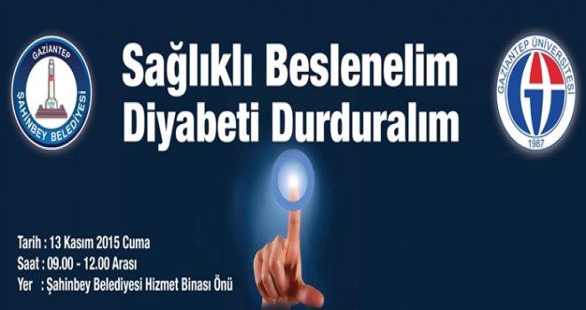 ŞAHİNBEY'DEN ÜCRETSİZ DİYABET TARAMASI