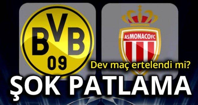 Borussia Dortmund - Monaco maçı yarına ertelendi