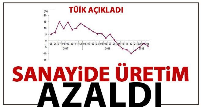 Sanayi üretim istatistikleri açıklandı!..