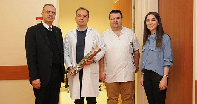 Sani Konukoğlu Hastanesin'de 14 Mart Tıb Bayramı kutlanıyor