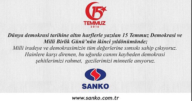 Sanko 15 Temmuz
