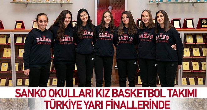 SANKO Okulları Genç Kız Basketbol Takımı bölge birincisi