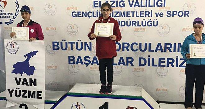 Sanko Okulları öğrencisi yüzme finalinde Gaziantep'i temsil edecek