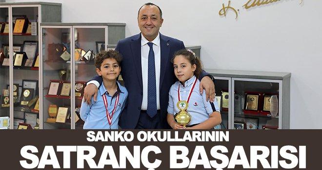 Sanko Okulları Satranç Turnuvası'nda il birincisi
