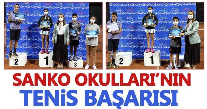 SANKO Okullarının tenis başarısı...