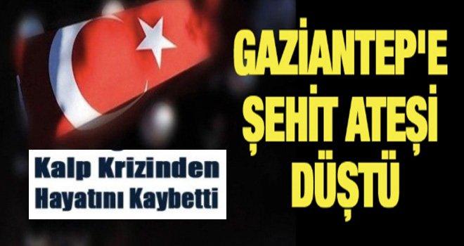 Şehit Ateşi Gaziantep'e düştü: Apaydın şehit oldu