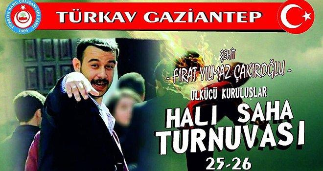 Şehit Çakıroğlu için  Futbol Turnuvası düzenledi