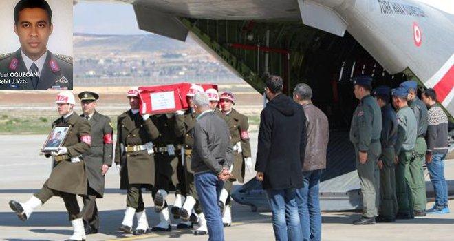 Şehit Yüzbaşı'nın cenazesi Gaziantep'te
