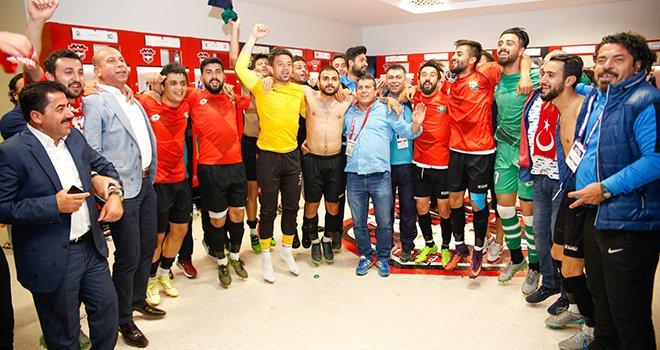 Şehitkamil Belediyespor: 2  Nizipspor: 0