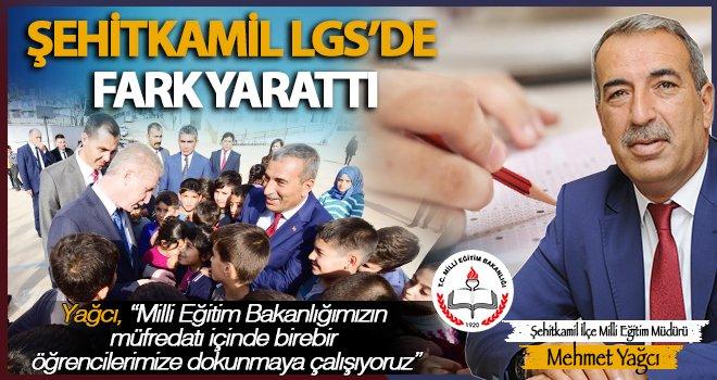Şehitkamil'de 12 öğrenci Türkiye birincisi oldu!