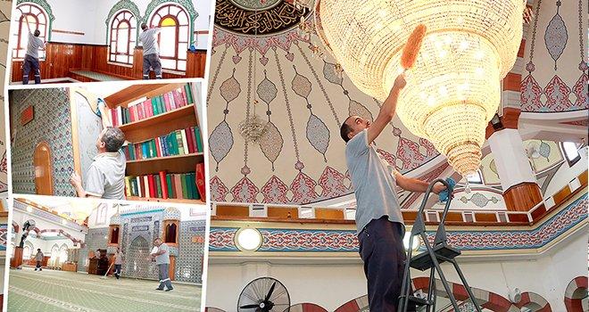 Şehitkamil'deki Camiler bayram namazına hazır