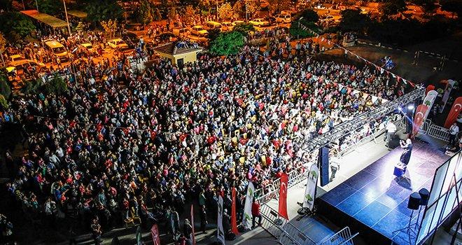 Şehitkamil'deki şenlikler Seyrantepe'de başladı