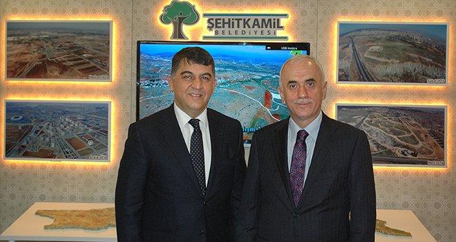 Şehitkamil'in projeleri Ankara'da görücüye çıktı