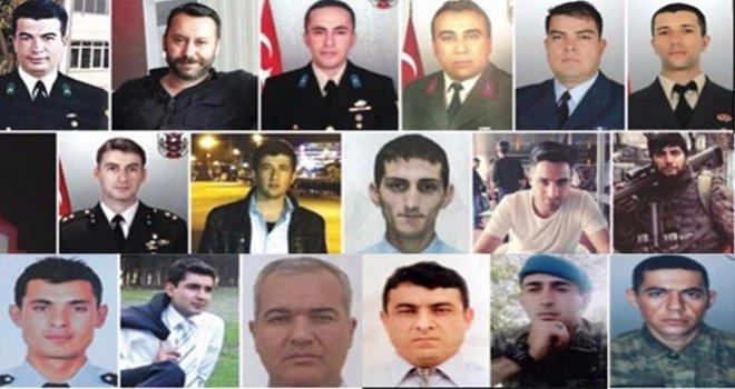 Şehitler diyarı Gaziantep 10 ayda teröre 18 şehit verdi