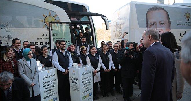 Şehrim 2023 Otobüsü Kültür Şehri Gaziantep'e geliyor